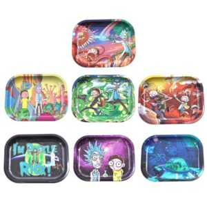 rick and morty ash trays
